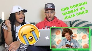 Couple Reacts : Gordon Ramsay vs Julia Child. Epic Rap Battles of History - Season 5 Reaction!
