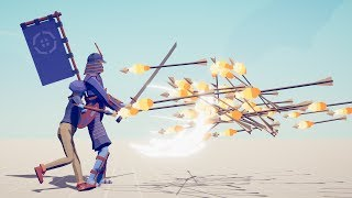 PAINTER & SHOGUN vs EVERY ARCHERS - Totally Accurate Battle Simulator TABS