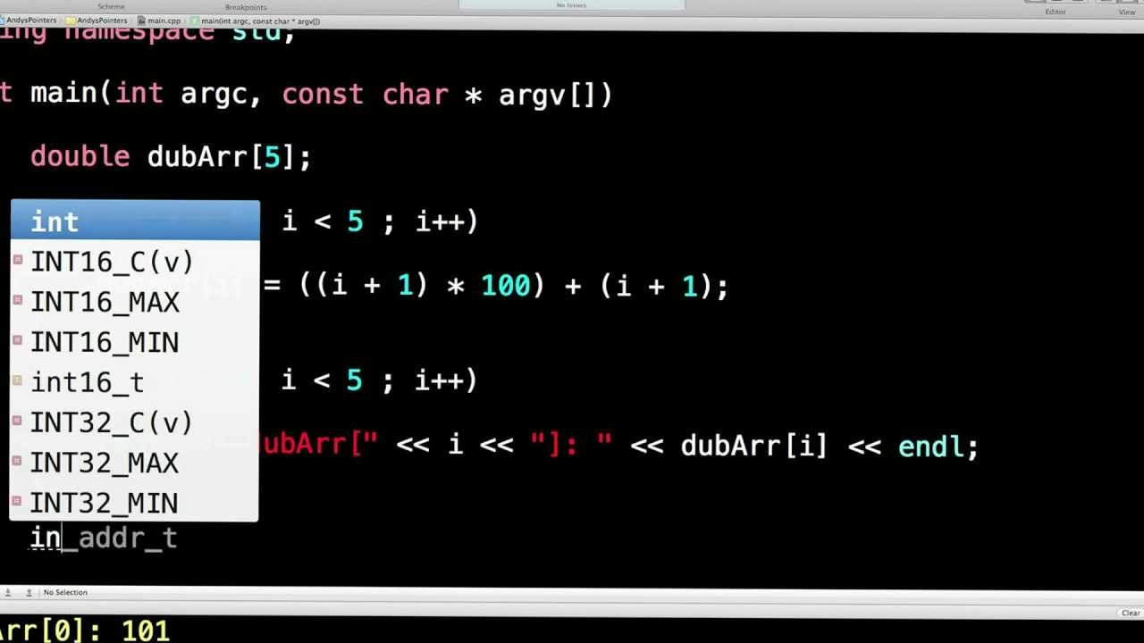 Learn Finance C++. Lesson 26. Dynamic Memory Allocation. pointers. new(). delete() - YouTube