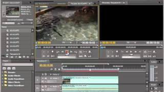 Как импортировать файлы в Adobe Premiere Pro CS5.5.mp4