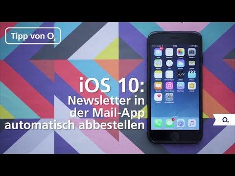 iOS 10: So könnt ihr Newsletter in der Mail-App automatisch abbestellen