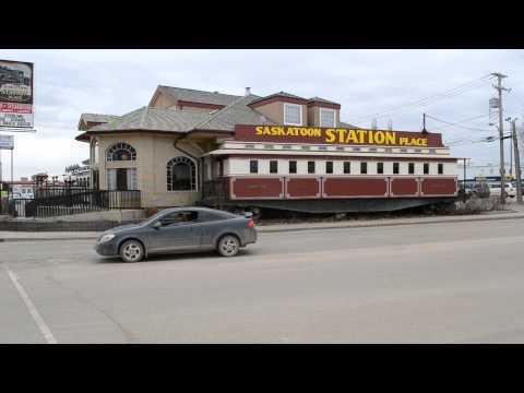 The Unique Saskatoon Station Place Train Restaurant