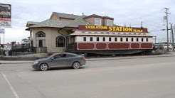 The Unique Saskatoon Station Place Train Restaurant