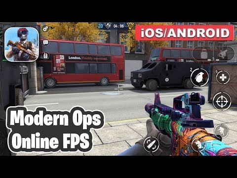 MODERN OPS ONLINE FPS - ANDROID / IOS GAMEPLAY