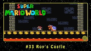 Super Mario World (SNES) #33 Roy's Castle