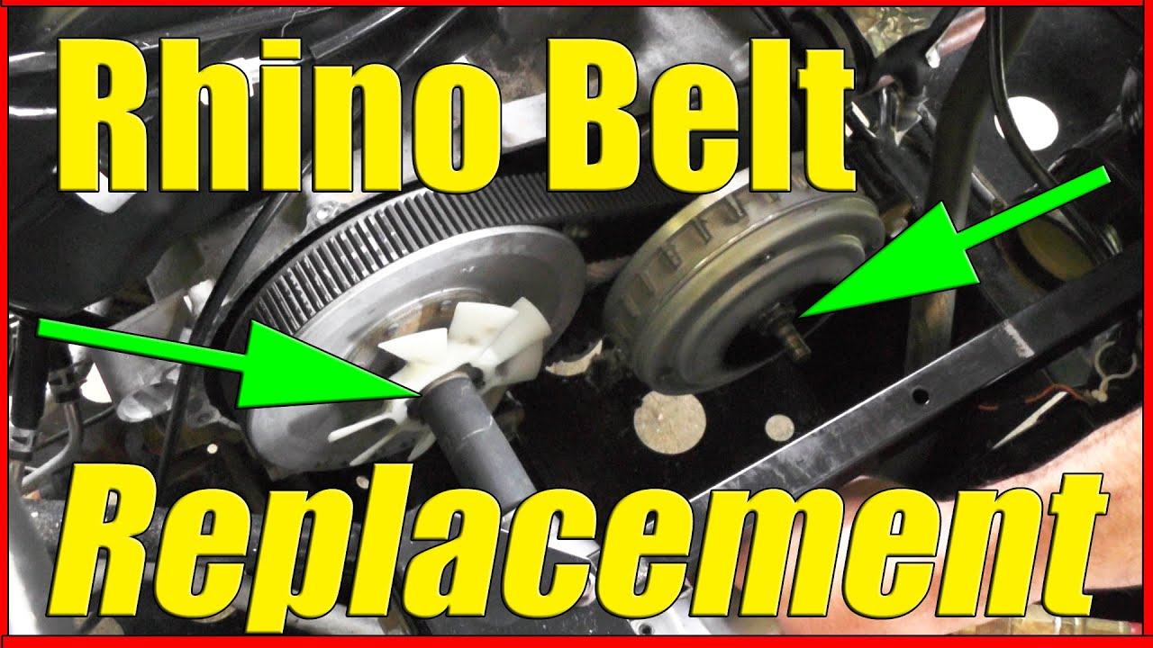 Yamaha Rhino Belt Replacement