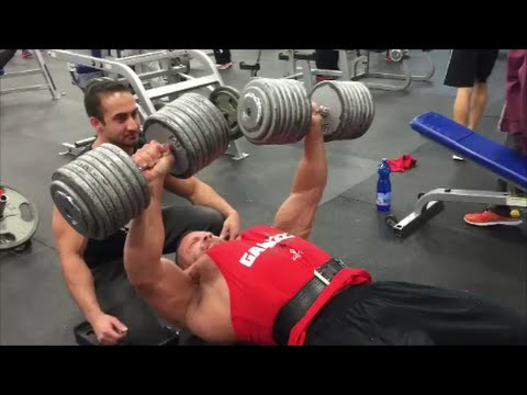 Heavy Chest Training with Mass Nutrition in Mississauga, ON!