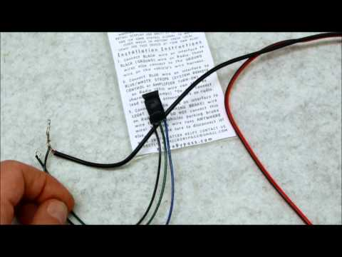 how to do a parking brake or foot brake bypass on any video deck new prewired ebrake parking brake bypass relay