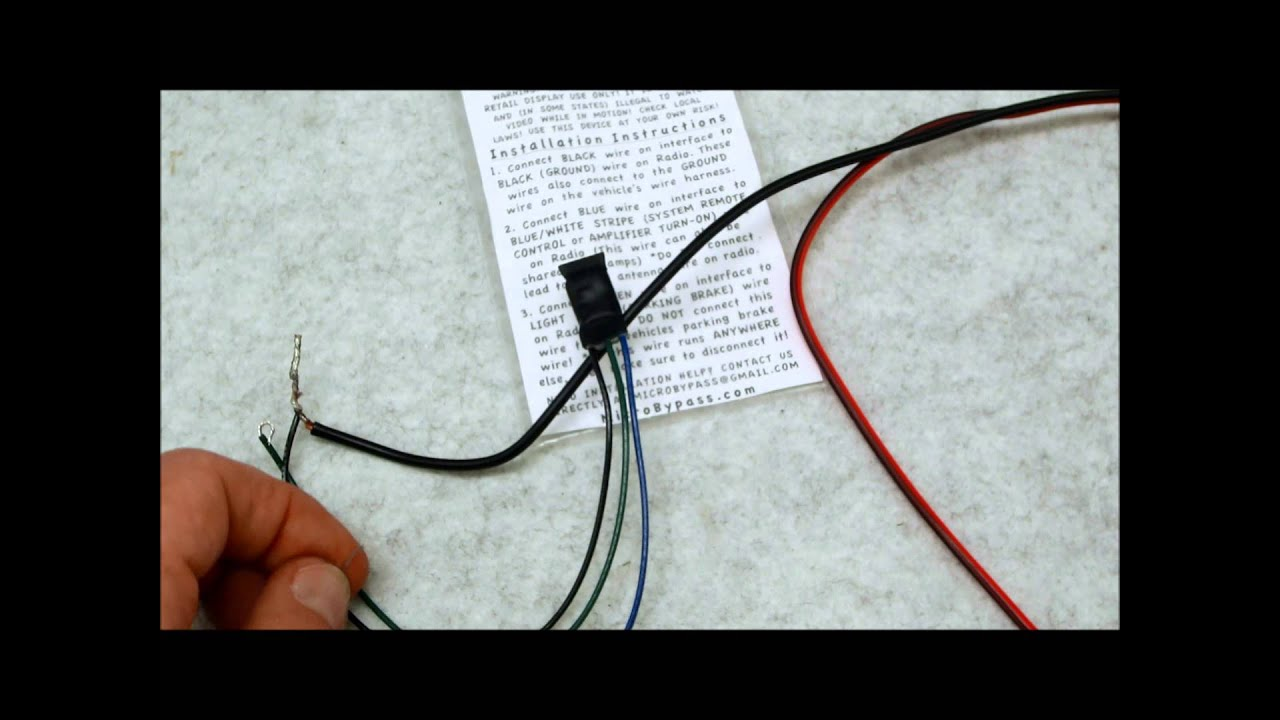 brake wiring diagram ge gas stove new prewired ebrake parking bypass relay - youtube