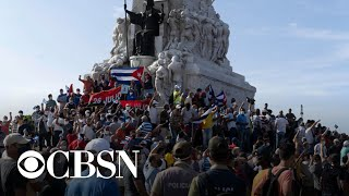 Thousands protest in Cuba over food shortages and rising prices