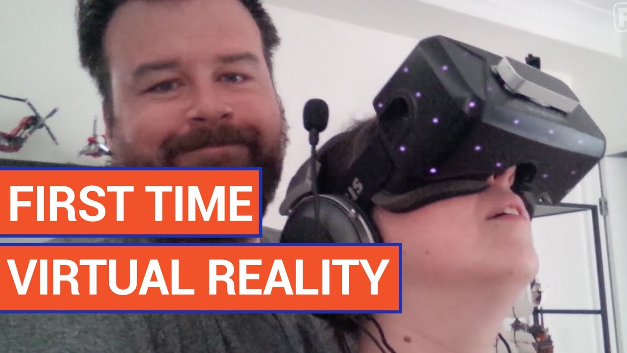 Girl Tries Virtual Reality | Daily Heart Beat