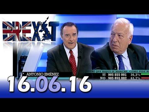 El Cascabel 13tv 16.06.16  | Brexit | Cameron en Gibraltar  |  Entrevista García-Margallo