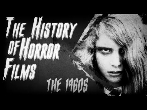 The History of Horror Films: 1960's