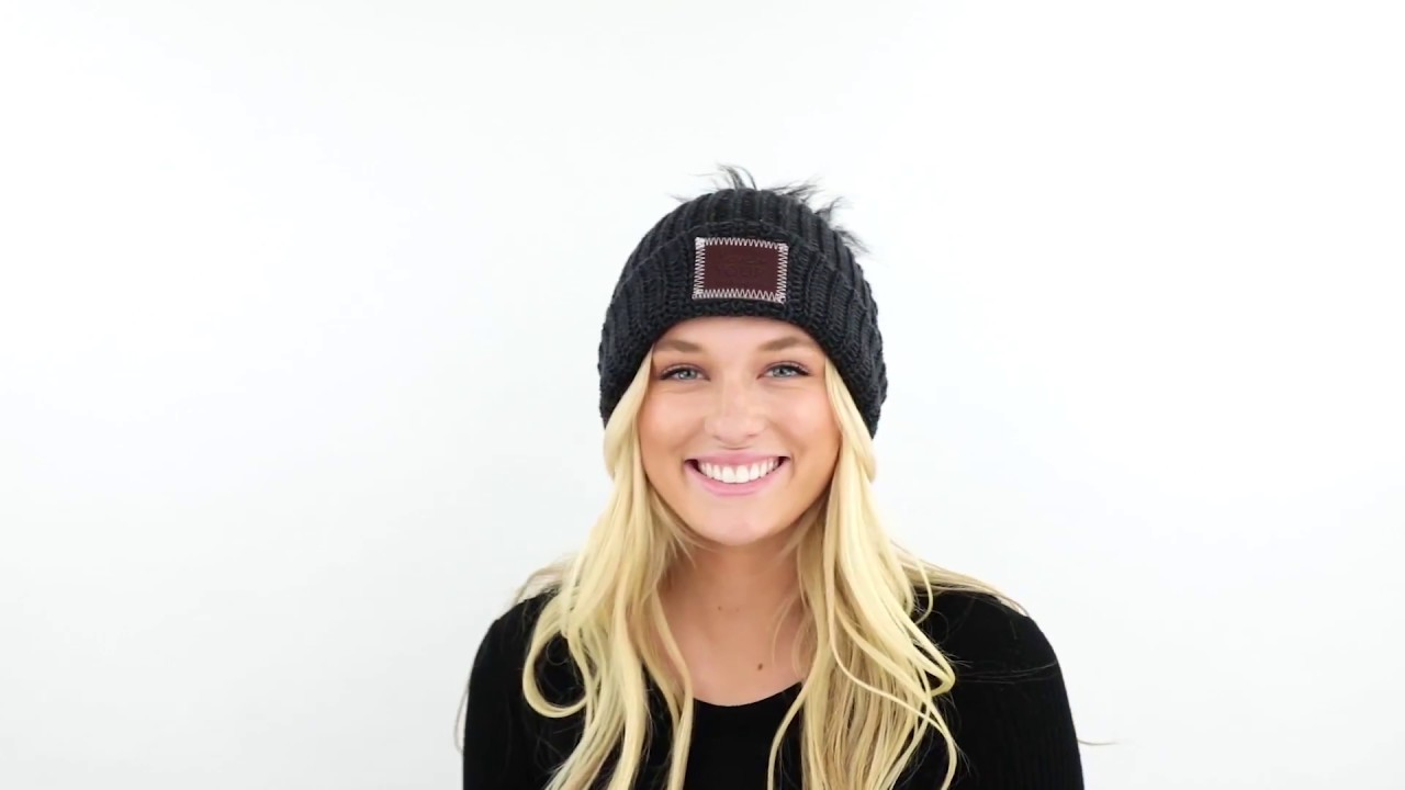 Love Your Melon  How To Style Your Pom Beanie - YouTube 8df84669549