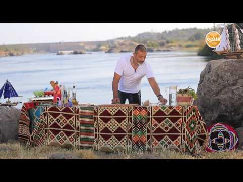 سمك فيليه بالخضار - مكرونة بالجمبري : شبكة و صنارة حلقة كاملة