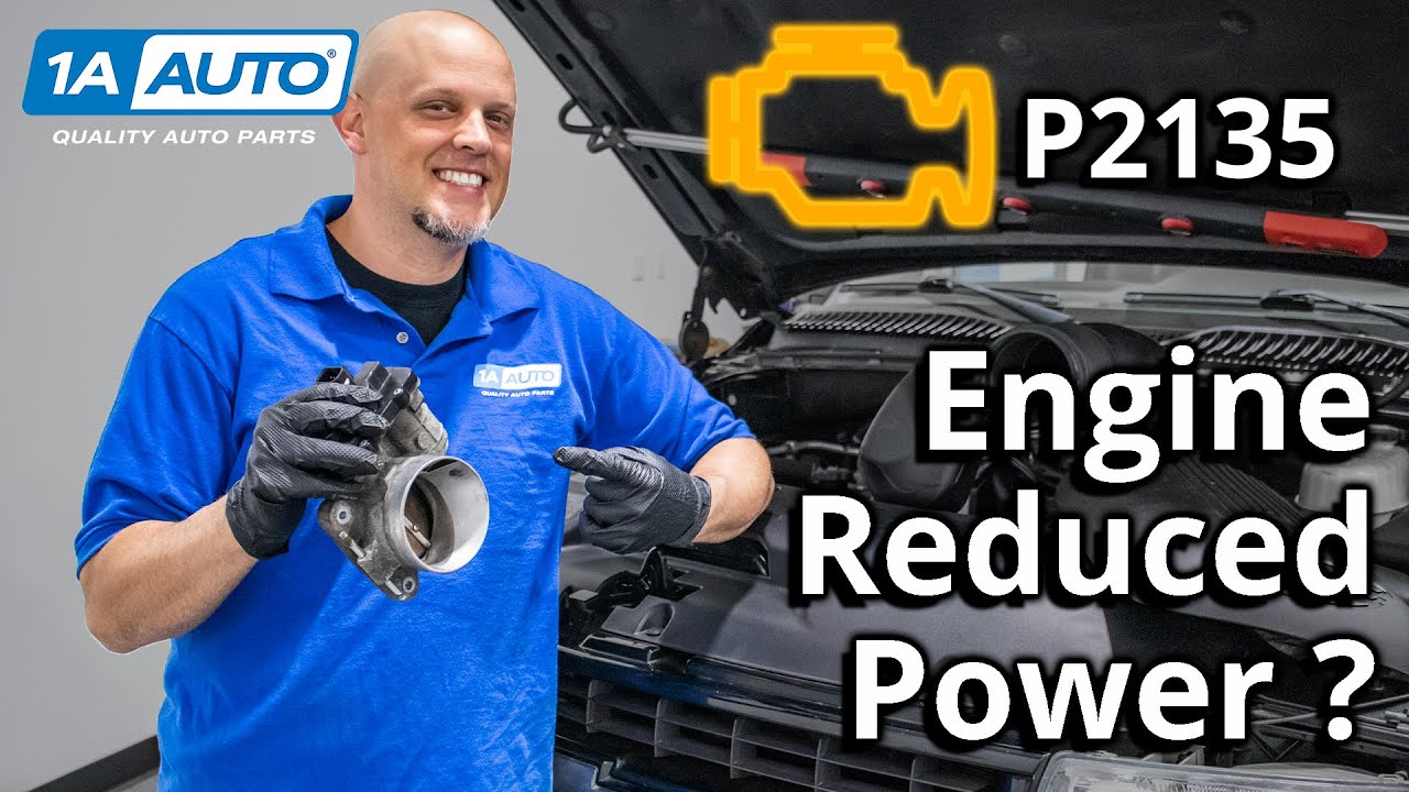 Check Engine Light? Reduced Engine Power or Stalling - Code P2135