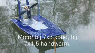 Rc Airboat, Brushless Powered
