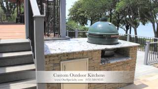 Outdoor Kitchen Designs University Park