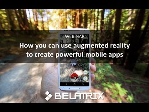 How you can use augmented reality to create powerful mobile apps