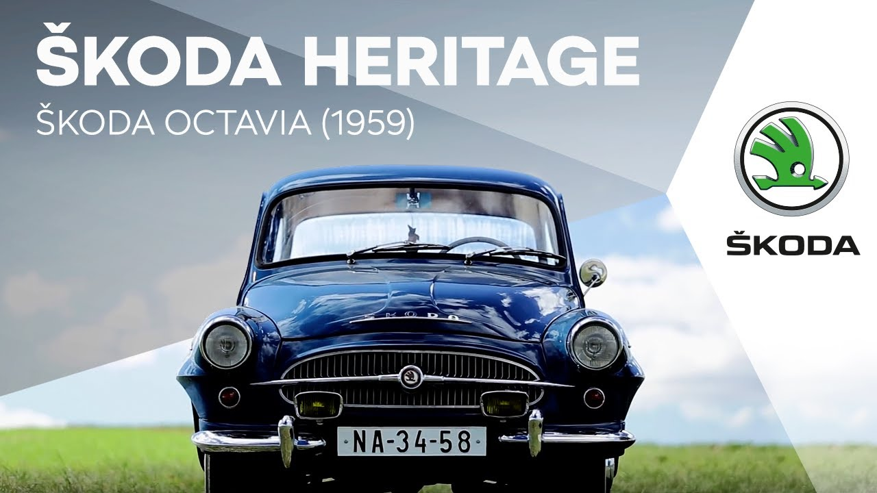 koda heritage koda octavia 1959 youtube. Black Bedroom Furniture Sets. Home Design Ideas