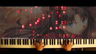 「Fate/Stay Night: Unlimited Blade Works 2014」OP -  Ideal White (piano solo) // Mashiro Ayano Thumbnail