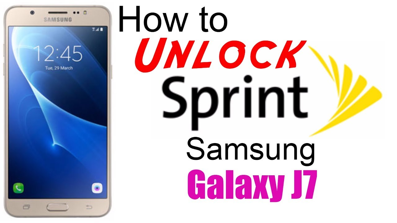 How to unlock samsung s7 phone