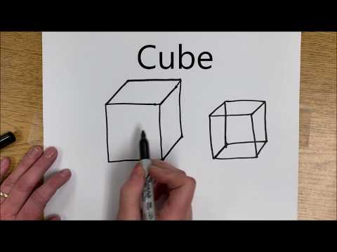 How to Draw 3D Shapes - YouTube