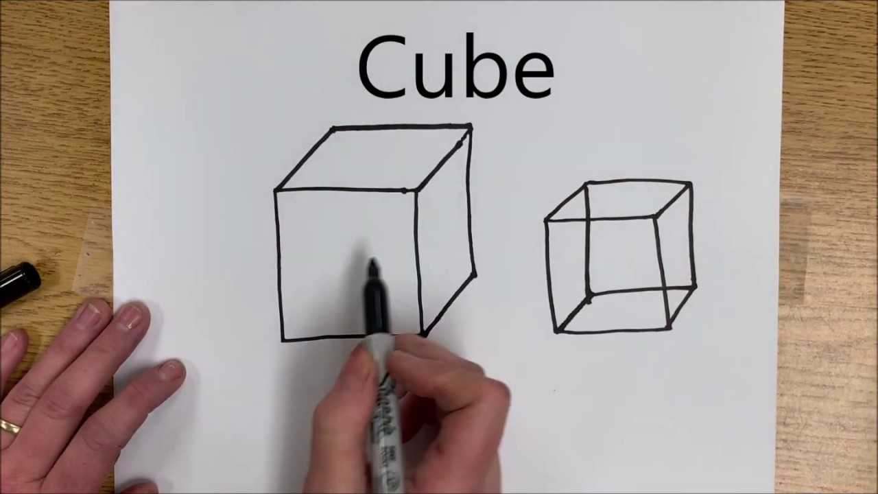 How To Draw 3d Shapes Youtube