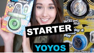 STARTER YOYOS: BUYERS GUIDE! Yoyofactory ONE, DV888, Velocity, Replay | Ann Connolly