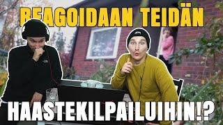 REAGOIDAAN TEIDÄN HAASTEKILPAILUIHIN!?