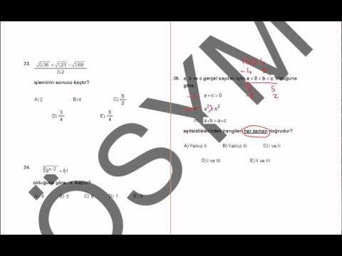 2011 kpss matematik çözümleri1