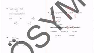 2011 kpss matematik çözümleri-1