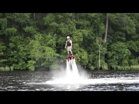 Learning to Flyboard - My First Two Days