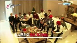 Video EXO Secret Santa Scene From  EXO Showtime EP 4 download MP3, 3GP, MP4, WEBM, AVI, FLV Juni 2018