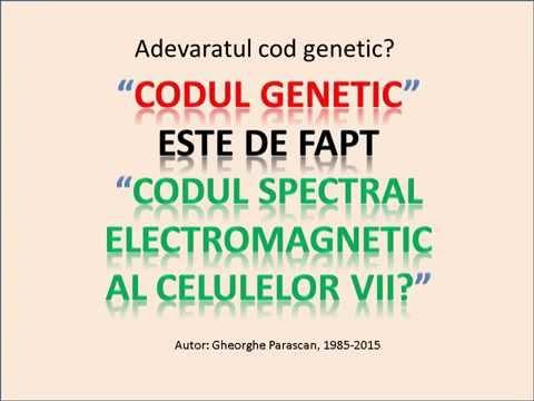 Adevaratul cod genetic