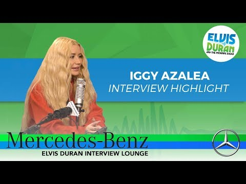 Iggy Azalea on Dealing with Criticism | Elvis Duran Interview Highlight