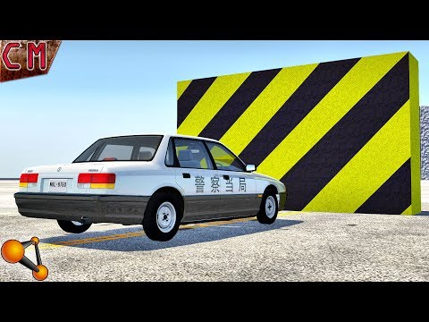 Experiment The strongest in-game car crashes in BeamNG Drive
