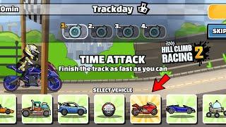 Hill Climb Racing 2 - 31671 points TRACKDAY Team Event Walkthrough