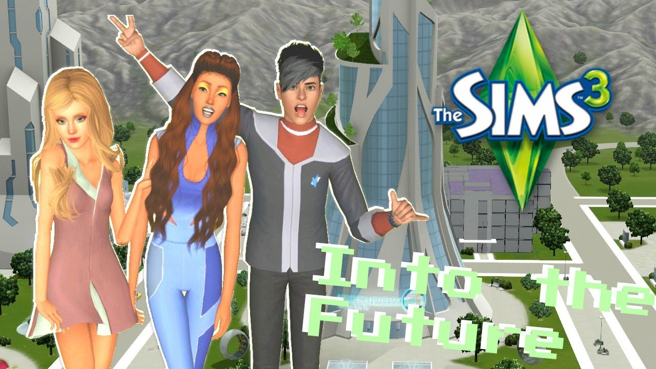 The Sims 3: Into the Future Pt 3 (PLUMBOT!!)