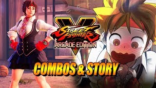 SAKURA - Combos & Story: Street Fighter 5 Arcade Edition