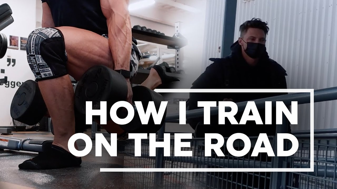 Training on the Road | GYMSHARK DENVER? | STEVE COOK VLOG