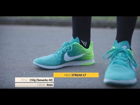 classic fit 63202 b1ca6 Qual o seu tênis  Confira o teste do Nike Streak LT - YouTube