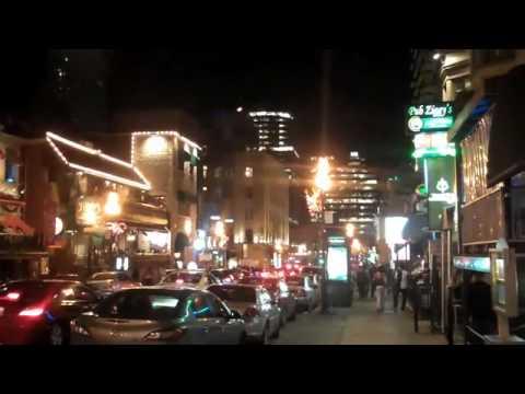 Crescent St., Montreal, Saturday Night