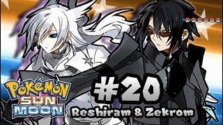 Pokémon Human Form 20   Vs. Reshiram and Zekrom (Tao Trio)