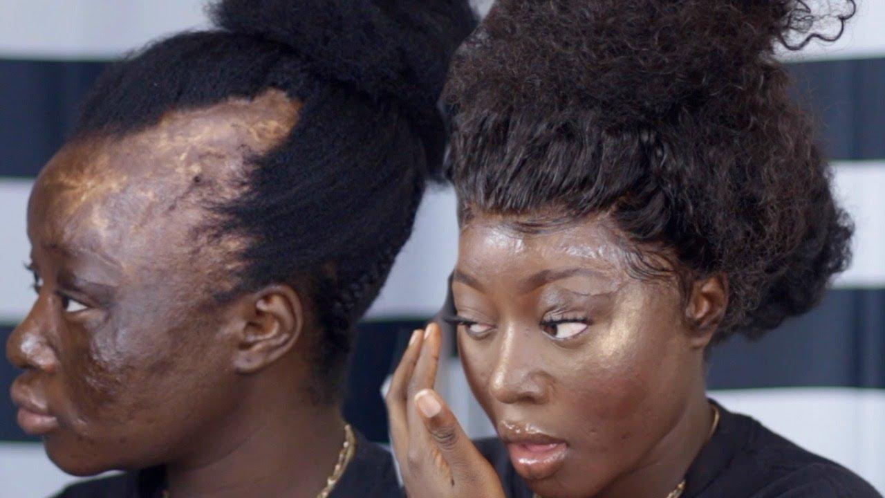 Hair Transformation On My Little Sister Wowafrican Wig Black