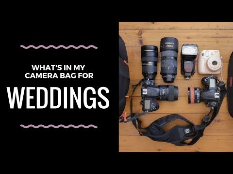What's In My Camera Bag: Wedding Photography Essentials