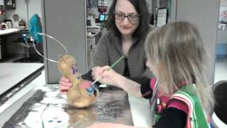 Pippa Painting A Birdhouse Gourd 2012-01-28_14-14-04_78