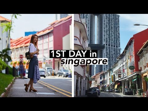First Day in Singapore | #Vlogmas Day④