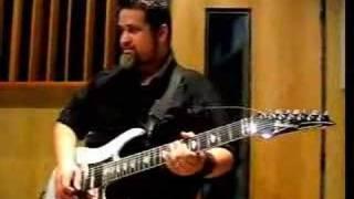 AUDIOPHONIC: Guitar solo attempts (Ibanez Universe UV777PBK)