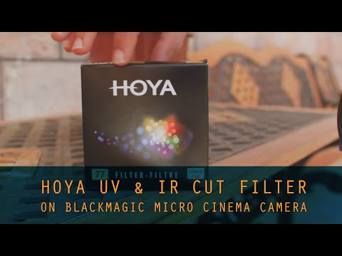 Hoya IR Cut Filter on Blackmagic Micro Cinema REVIEW